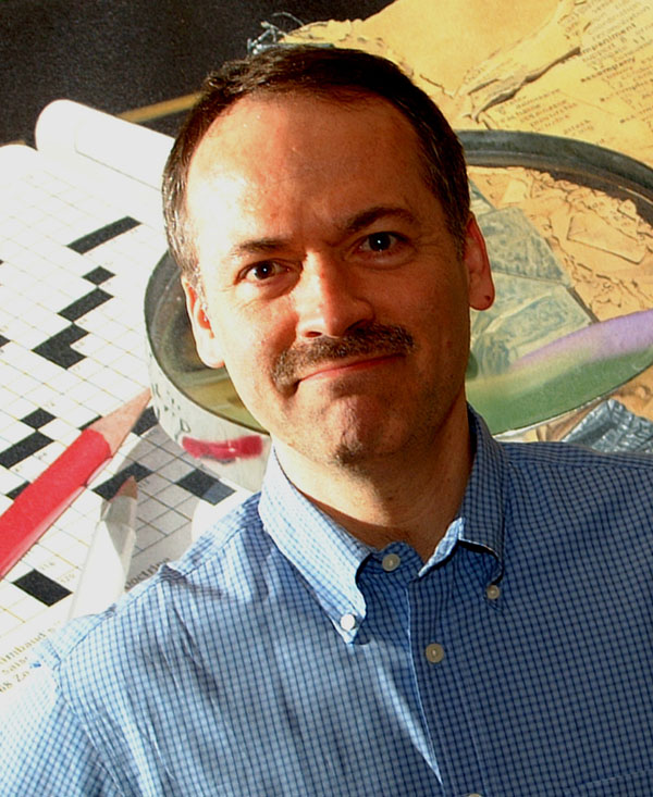 Will Shortz photograph by Don Christensen